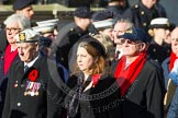 Remembrance Sunday at the Cenotaph in London 2014: Group E3 - Merchant Navy Association. Press stand opposite the Foreign Office building, Whitehall, London SW1, London, Greater London, United Kingdom, on 09 November 2014 at 11:50, image #597