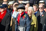 Remembrance Sunday at the Cenotaph in London 2014: Group E3 - Merchant Navy Association. Press stand opposite the Foreign Office building, Whitehall, London SW1, London, Greater London, United Kingdom, on 09 November 2014 at 11:50, image #598