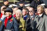 Remembrance Sunday at the Cenotaph in London 2014: Group E3 - Merchant Navy Association. Press stand opposite the Foreign Office building, Whitehall, London SW1, London, Greater London, United Kingdom, on 09 November 2014 at 11:50, image #599