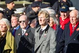 Remembrance Sunday at the Cenotaph in London 2014: Group E3 - Merchant Navy Association. Press stand opposite the Foreign Office building, Whitehall, London SW1, London, Greater London, United Kingdom, on 09 November 2014 at 11:50, image #600