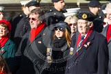 Remembrance Sunday at the Cenotaph in London 2014: Group E3 - Merchant Navy Association. Press stand opposite the Foreign Office building, Whitehall, London SW1, London, Greater London, United Kingdom, on 09 November 2014 at 11:50, image #608