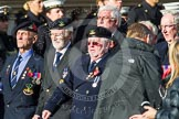 Remembrance Sunday at the Cenotaph in London 2014: Group E3 - Merchant Navy Association. Press stand opposite the Foreign Office building, Whitehall, London SW1, London, Greater London, United Kingdom, on 09 November 2014 at 11:50, image #615
