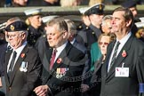 Remembrance Sunday at the Cenotaph in London 2014: Group E6 - Fleet Air Arm Bucaneer Association. Press stand opposite the Foreign Office building, Whitehall, London SW1, London, Greater London, United Kingdom, on 09 November 2014 at 11:50, image #633