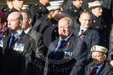 Remembrance Sunday at the Cenotaph in London 2014: Group E11 - Sea Harrier Association. Press stand opposite the Foreign Office building, Whitehall, London SW1, London, Greater London, United Kingdom, on 09 November 2014 at 11:51, image #670