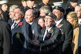 Remembrance Sunday at the Cenotaph in London 2014: Group E17 - HMS Ganges Association. Press stand opposite the Foreign Office building, Whitehall, London SW1, London, Greater London, United Kingdom, on 09 November 2014 at 11:51, image #697