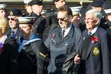 Remembrance Sunday at the Cenotaph in London 2014: Group E17 - HMS Ganges Association. Press stand opposite the Foreign Office building, Whitehall, London SW1, London, Greater London, United Kingdom, on 09 November 2014 at 11:51, image #701