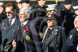 Remembrance Sunday at the Cenotaph in London 2014: Group E17 - HMS Ganges Association. Press stand opposite the Foreign Office building, Whitehall, London SW1, London, Greater London, United Kingdom, on 09 November 2014 at 11:52, image #703