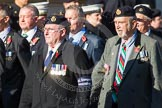 Remembrance Sunday at the Cenotaph in London 2014: Group E18 - HMS Glasgow Association.. Press stand opposite the Foreign Office building, Whitehall, London SW1, London, Greater London, United Kingdom, on 09 November 2014 at 11:52, image #711