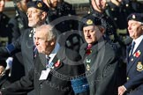 Remembrance Sunday at the Cenotaph in London 2014: Group E21 - Algerines Association. Press stand opposite the Foreign Office building, Whitehall, London SW1, London, Greater London, United Kingdom, on 09 November 2014 at 11:52, image #729