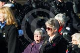 Remembrance Sunday at the Cenotaph in London 2014: Group E25 - Association of WRENS. Press stand opposite the Foreign Office building, Whitehall, London SW1, London, Greater London, United Kingdom, on 09 November 2014 at 11:53, image #780