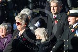 Remembrance Sunday at the Cenotaph in London 2014: Group E25 - Association of WRENS. Press stand opposite the Foreign Office building, Whitehall, London SW1, London, Greater London, United Kingdom, on 09 November 2014 at 11:53, image #781