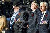 Remembrance Sunday at the Cenotaph in London 2014: Group E26 - Royal Fleet Auxiliary Association. Press stand opposite the Foreign Office building, Whitehall, London SW1, London, Greater London, United Kingdom, on 09 November 2014 at 11:53, image #784