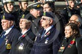 Remembrance Sunday at the Cenotaph in London 2014: Group E26 - Royal Fleet Auxiliary Association. Press stand opposite the Foreign Office building, Whitehall, London SW1, London, Greater London, United Kingdom, on 09 November 2014 at 11:53, image #788