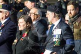 Remembrance Sunday at the Cenotaph in London 2014: Group E27 - Royal Naval Communications Association. Press stand opposite the Foreign Office building, Whitehall, London SW1, London, Greater London, United Kingdom, on 09 November 2014 at 11:53, image #789
