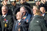 Remembrance Sunday at the Cenotaph in London 2014: Group E35 - Association of Royal Yachtsmen. Press stand opposite the Foreign Office building, Whitehall, London SW1, London, Greater London, United Kingdom, on 09 November 2014 at 11:54, image #833