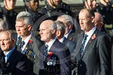 Remembrance Sunday at the Cenotaph in London 2014: Group E35 - Association of Royal Yachtsmen. Press stand opposite the Foreign Office building, Whitehall, London SW1, London, Greater London, United Kingdom, on 09 November 2014 at 11:54, image #836