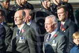 Remembrance Sunday at the Cenotaph in London 2014: Group E37 -Aircraft Handlers Association. Press stand opposite the Foreign Office building, Whitehall, London SW1, London, Greater London, United Kingdom, on 09 November 2014 at 11:54, image #845