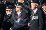 Remembrance Sunday at the Cenotaph in London 2014: Group E38 - Aircrewmans Association. Press stand opposite the Foreign Office building, Whitehall, London SW1, London, Greater London, United Kingdom, on 09 November 2014 at 11:54, image #860