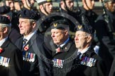 Remembrance Sunday at the Cenotaph in London 2014: Group E38 - Aircrewmans Association. Press stand opposite the Foreign Office building, Whitehall, London SW1, London, Greater London, United Kingdom, on 09 November 2014 at 11:54, image #866