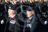Remembrance Sunday at the Cenotaph in London 2014: Group E38 - Aircrewmans Association. Press stand opposite the Foreign Office building, Whitehall, London SW1, London, Greater London, United Kingdom, on 09 November 2014 at 11:54, image #868