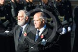 Remembrance Sunday at the Cenotaph in London 2014: Group E40 - The Fisgard Association. Press stand opposite the Foreign Office building, Whitehall, London SW1, London, Greater London, United Kingdom, on 09 November 2014 at 11:55, image #876