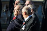 Remembrance Sunday at the Cenotaph in London 2014: Group E40 - The Fisgard Association. Press stand opposite the Foreign Office building, Whitehall, London SW1, London, Greater London, United Kingdom, on 09 November 2014 at 11:55, image #877