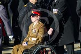Remembrance Sunday at the Cenotaph in London 2014: ??? Please let me know which group this is! ???. Press stand opposite the Foreign Office building, Whitehall, London SW1, London, Greater London, United Kingdom, on 09 November 2014 at 11:55, image #879