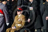 Remembrance Sunday at the Cenotaph in London 2014: ??? Please let me know which group this is! ???. Press stand opposite the Foreign Office building, Whitehall, London SW1, London, Greater London, United Kingdom, on 09 November 2014 at 11:55, image #880