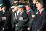 Remembrance Sunday at the Cenotaph in London 2014: ??? Please let me know which group this is! ???. Press stand opposite the Foreign Office building, Whitehall, London SW1, London, Greater London, United Kingdom, on 09 November 2014 at 11:55, image #882