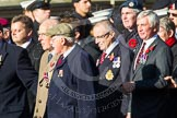 Remembrance Sunday at the Cenotaph in London 2014: ??? Please let me know which group this is! ???. Press stand opposite the Foreign Office building, Whitehall, London SW1, London, Greater London, United Kingdom, on 09 November 2014 at 11:55, image #887