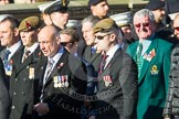 Remembrance Sunday at the Cenotaph in London 2014: ??? Please let me know which group this is! ???. Press stand opposite the Foreign Office building, Whitehall, London SW1, London, Greater London, United Kingdom, on 09 November 2014 at 11:55, image #891