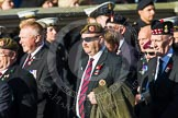 Remembrance Sunday at the Cenotaph in London 2014: ??? Please let me know which group this is! ???. Press stand opposite the Foreign Office building, Whitehall, London SW1, London, Greater London, United Kingdom, on 09 November 2014 at 11:55, image #895