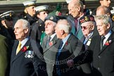 Remembrance Sunday at the Cenotaph in London 2014: ??? Please let me know which group this is! ???. Press stand opposite the Foreign Office building, Whitehall, London SW1, London, Greater London, United Kingdom, on 09 November 2014 at 11:55, image #897