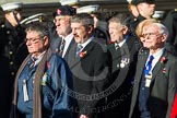 Remembrance Sunday at the Cenotaph in London 2014: ??? Please let me know which group this is! ???. Press stand opposite the Foreign Office building, Whitehall, London SW1, London, Greater London, United Kingdom, on 09 November 2014 at 11:55, image #899
