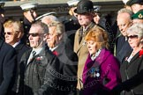 Remembrance Sunday at the Cenotaph in London 2014: Group A1 - Blind Veterans UK. Press stand opposite the Foreign Office building, Whitehall, London SW1, London, Greater London, United Kingdom, on 09 November 2014 at 11:56, image #904