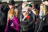 Remembrance Sunday at the Cenotaph in London 2014: Group A1 - Blind Veterans UK. Press stand opposite the Foreign Office building, Whitehall, London SW1, London, Greater London, United Kingdom, on 09 November 2014 at 11:56, image #905