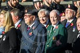 Remembrance Sunday at the Cenotaph in London 2014: Group A1 - Blind Veterans UK. Press stand opposite the Foreign Office building, Whitehall, London SW1, London, Greater London, United Kingdom, on 09 November 2014 at 11:56, image #909
