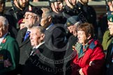 Remembrance Sunday at the Cenotaph in London 2014: Group A1 - Blind Veterans UK. Press stand opposite the Foreign Office building, Whitehall, London SW1, London, Greater London, United Kingdom, on 09 November 2014 at 11:56, image #910