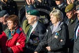 Remembrance Sunday at the Cenotaph in London 2014: Group A1 - Blind Veterans UK. Press stand opposite the Foreign Office building, Whitehall, London SW1, London, Greater London, United Kingdom, on 09 November 2014 at 11:56, image #912