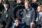 Remembrance Sunday at the Cenotaph in London 2014: Group A1 - Blind Veterans UK. Press stand opposite the Foreign Office building, Whitehall, London SW1, London, Greater London, United Kingdom, on 09 November 2014 at 11:56, image #921