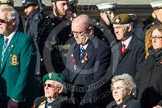 Remembrance Sunday at the Cenotaph in London 2014: Group A1 - Blind Veterans UK. Press stand opposite the Foreign Office building, Whitehall, London SW1, London, Greater London, United Kingdom, on 09 November 2014 at 11:56, image #923