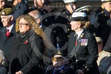 Remembrance Sunday at the Cenotaph in London 2014: Group A1 - Blind Veterans UK. Press stand opposite the Foreign Office building, Whitehall, London SW1, London, Greater London, United Kingdom, on 09 November 2014 at 11:56, image #925