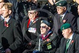 Remembrance Sunday at the Cenotaph in London 2014: Group A1 - Blind Veterans UK. Press stand opposite the Foreign Office building, Whitehall, London SW1, London, Greater London, United Kingdom, on 09 November 2014 at 11:56, image #927