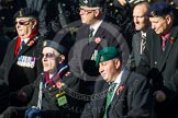 Remembrance Sunday at the Cenotaph in London 2014: Group A1 - Blind Veterans UK. Press stand opposite the Foreign Office building, Whitehall, London SW1, London, Greater London, United Kingdom, on 09 November 2014 at 11:56, image #928