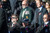 Remembrance Sunday at the Cenotaph in London 2014: Group A1 - Blind Veterans UK. Press stand opposite the Foreign Office building, Whitehall, London SW1, London, Greater London, United Kingdom, on 09 November 2014 at 11:56, image #930