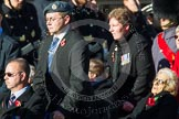Remembrance Sunday at the Cenotaph in London 2014: Group A1 - Blind Veterans UK. Press stand opposite the Foreign Office building, Whitehall, London SW1, London, Greater London, United Kingdom, on 09 November 2014 at 11:56, image #932