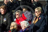 Remembrance Sunday at the Cenotaph in London 2014: Group A1 - Blind Veterans UK. Press stand opposite the Foreign Office building, Whitehall, London SW1, London, Greater London, United Kingdom, on 09 November 2014 at 11:56, image #935