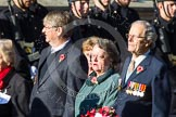 Remembrance Sunday at the Cenotaph in London 2014: Group F2 - Italy Star Association. Press stand opposite the Foreign Office building, Whitehall, London SW1, London, Greater London, United Kingdom, on 09 November 2014 at 11:56, image #951