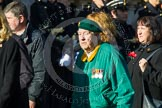 Remembrance Sunday at the Cenotaph in London 2014: Group F4 - Burma Star Association. Press stand opposite the Foreign Office building, Whitehall, London SW1, London, Greater London, United Kingdom, on 09 November 2014 at 11:57, image #960