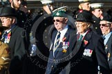 Remembrance Sunday at the Cenotaph in London 2014: Group F14 - National Malaya & Borneo Veterans Association. Press stand opposite the Foreign Office building, Whitehall, London SW1, London, Greater London, United Kingdom, on 09 November 2014 at 11:58, image #1018